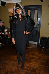 JUNE SARPONG at a party to launch Madderson London Women's Wear held at Beaufort House, 354 Kings Road, London on 23rd January 2014.