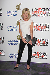 © Licensed to London News Pictures. 08/10/2014, UK. Anthea Turner, London Lifestyle Awards 2014, The Troxy, London UK, 08 October 2014. Photo credit : Brett D. Cove/Piqtured/LNP