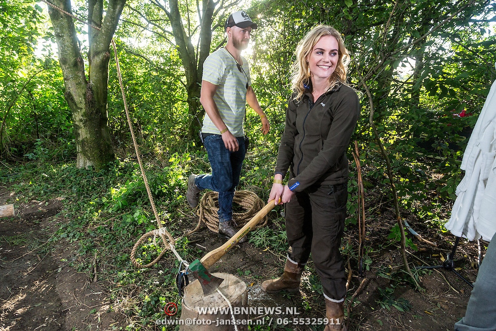 NLD/Haarzuilens/20150927 - Opname 'Open het Bos', Hanne ter Smette