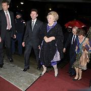 NLD/Apeldoorn/20080119 - Verjaardag Pr. Margriet 65 jaar, aankomst samen met Koninging Beatrix