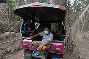 NORTH SULAWESI, INDONESIA - MAY 15: : <br /> <br /> Aftermath Eruption Mount Karangetang Volcano in North Sulawesi<br /> <br /> A view of villages at Siau island aftermath eruption mount Karangetang volcano on May 12, 2015 in North Sulawesi, Indonesia. <br /> Nearly a week passed Since the biggest eruption on Thursday 7 May 2015 Karangetang volcano eruptions of hot clouds and lava. make hundreds of residents in the three mountain hamlets around the place safer displaced and hundreds dead livestock and fruit orchards, nutmeg citizens die. The worst impact is felt villagers Korakora.<br /> For residents in the area of Mount Karangetang known as Api Siau has a value of its own mystique. volcano located in the northern part of North Sulawesi, Indonesia precisely in Siau Island Regency Tagulandang Biaro (Sitaro). Mount Karangetang is one of the most active volcanoes in Indonesia with the eruption of more than 40 times since 1675 as well as many small eruptions that are not documented in historical records. in the notes eruption Karangetang occurred in 1997, 2010 and 2011 that killed three people.<br /> ©Fiqman Sunandar/Exclusivepix Media