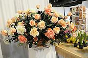 Silk rose flower bouquet
