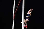 Ninon Guillon Romarin (FRA) competes and wins the Gold medal on Women's Pole Vault during the Jeux Mediterraneens 2018, in Tarragona, Spain, Day 7, on June 28, 2018 - Photo Stephane Kempinaire / KMSP / ProSportsImages / DPPI