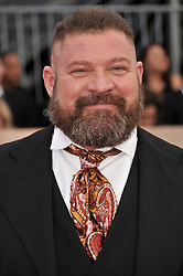 Brad William Henke arrives at the 24th annual Screen Actors Guild Awards at The Shrine Exposition Center on January 21, 2018 in Los Angeles, California. <br /><br />(Photo by Sthanlee Mirador/Sipa USA)