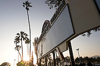 Route 66 Azusa Foothill Drive-in Theatre Marquee Sign, California