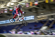 #15 (SEGERS Wouter) BEL during practice at the 2019 UCI BMX Supercross World Cup in Manchester, Great Britain