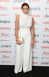 Jessica Wright attending the Cosmopolitan FashFest 2016, Old Billingsgate Market, London. Picture credit should read: Doug Peters/EMPICS Entertainment