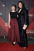 Ilse Aigner (r.) und Judith Gerlach auf dem Roten Teppich anlässlich der Verleihung des 41. Bayerischen Filmpreises 2019 am 17.01.2020 im Prinzregententheater München.