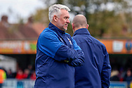AFC Wimbledon assistant manager Nick Daws watching training during the EFL Sky Bet League 1 match between AFC Wimbledon and Lincoln City at the Cherry Red Records Stadium, Kingston, England on 2 November 2019.