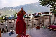 Dalai Lama's temple, Dharamsala, Himachal Pradesh, India