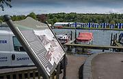 Henley on Thames. United Kingdom.   2018 Henley Royal Regatta, Henley Reach. <br />   <br /> Course Construction<br /> <br /> Thursday  03/05/2018<br /> <br /> [Mandatory Credit: Peter SPURRIER:Intersport Images]<br /> <br /> LEICA CAMERA AG  LEICA Q (Typ 116)  f5.6  1/1250sec  35mm  42.6MB