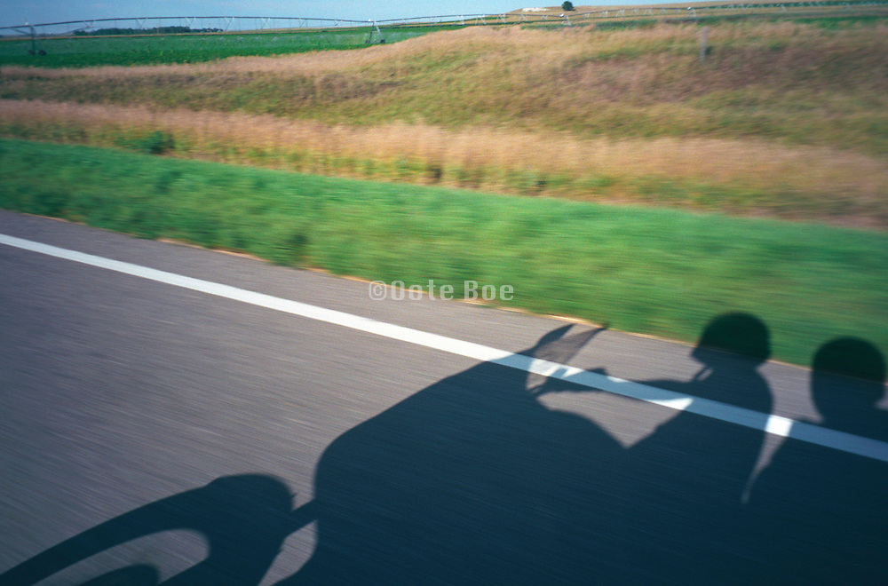 couple driving through the country side