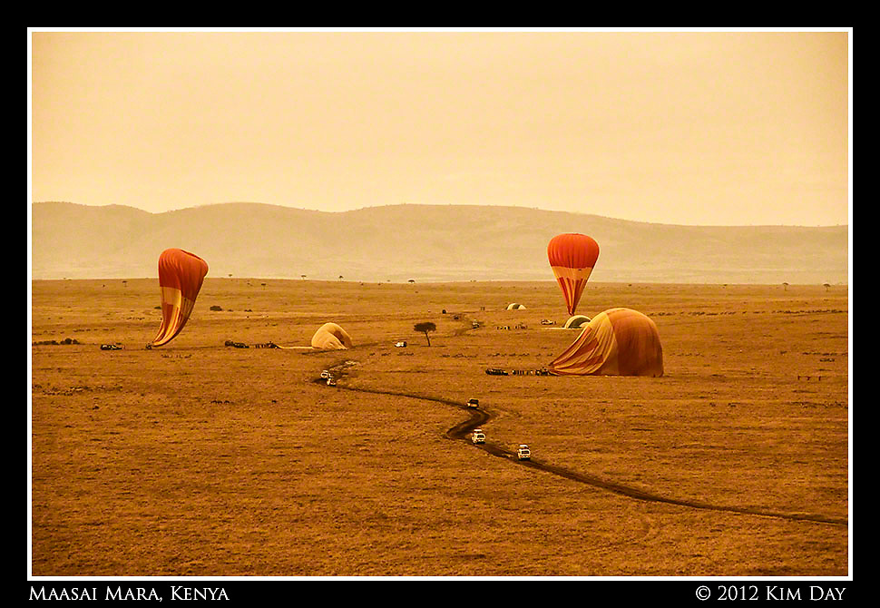 End Of The Ride.Maasai Mara, Kenya.September 2012