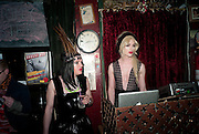 JACQUI POTATO; JONBEMET, Ponystep - issue 3 launch party, George and Dragon, 2-4 Hackney Road, London, E2.  April 5 2012.