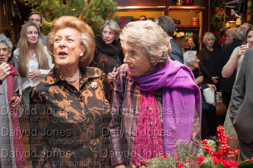LADY PAMELA HICKS; COUNTESS MOUNTBATTEN OF BURMA , Book launch for ' Daughter of Empire - Life as a Mountbatten' by Lady Pamela Hicks. Ralph Lauren, 1 New Bond St. London. 12 November 2012.