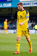 Oxford United forward James Henry (17)  during the EFL Sky Bet League 1 match between Gillingham and Oxford United at the MEMS Priestfield Stadium, Gillingham, England on 9 March 2019.