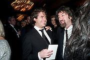 Rupert Goold; Trevor Nunn, The Laurence Olivier Awards,The Grosvenor House Hotel, Park Lane. London.   21 March  2010