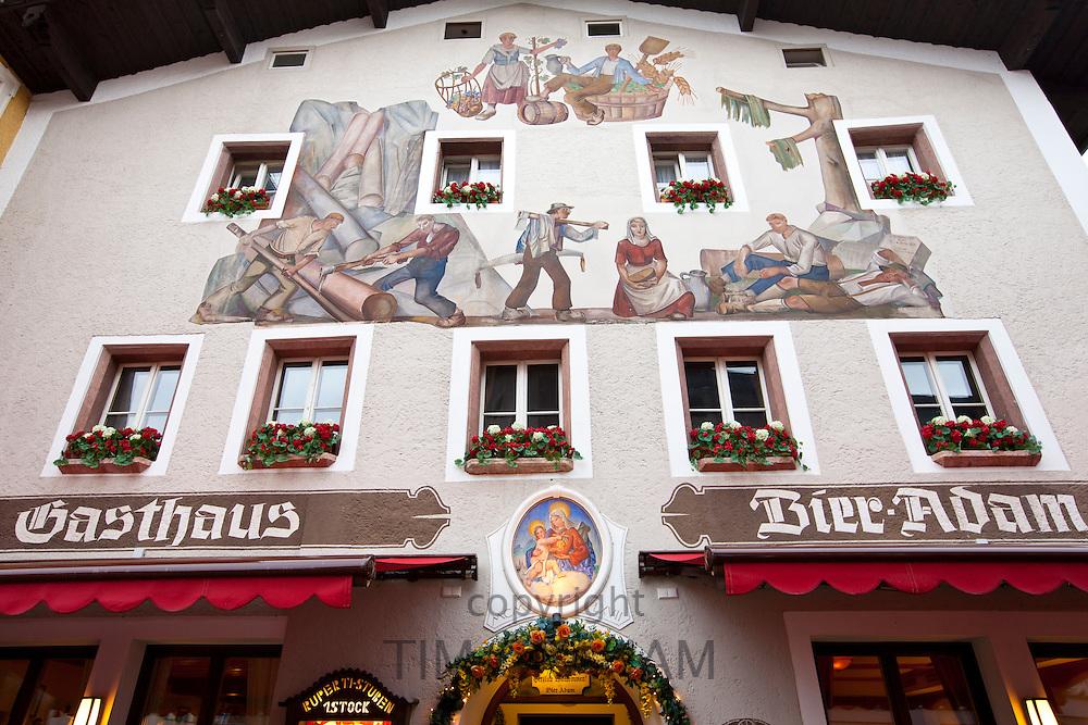 Gasthaus Adam guesthouse in Schlossplatz, Berchtesgaden in Baden-Wurttenberg, Bavaria, Germany