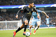 Celtic's Emilio Izaguirre (3) during the Champions League match between Manchester City and Celtic at the Etihad Stadium, Manchester, England on 6 December 2016. Photo by Craig Galloway.
