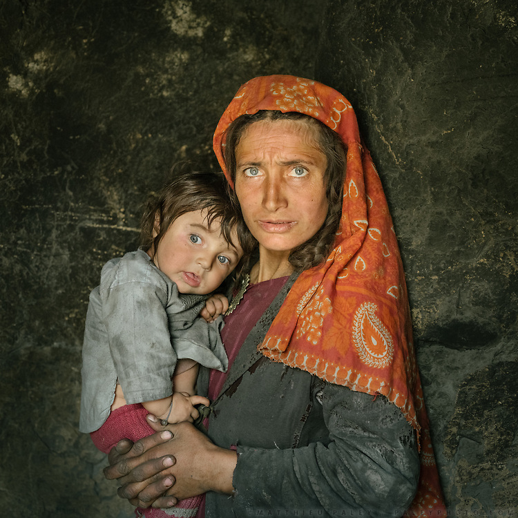 This is Bejoda and her son Javed, as I enter their house for tea. There are only about 70.000 Wakhis and they are split between Afghanistan, Tajikistan, Pakistan and China, all in the Pamir mountains. They speak an Indo-European language, it's a very poetic language. The traditional life of the Wakhi people, in the Wakhan corridor, amongst the Pamir mountains.