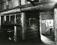 1943 Entrance to main room & Shore Patrol Station at the Hollywood Canteen