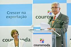 O presdiente da Coutomoda, Francisco Santos durante abertura oficial da COUROMODA 2007 - 34ª Feira Internacional de Calçados, Artigos Esportivos e Artefatos de Couro que acontece de 15 a 18 de janeiro, no Parque Anhembi, São Paulo. FOTO: Jefferson Bernardes/Preview.com