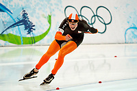 VANCOUVER OLYMPIC GAMES 2010 - VANCOUVER (CAN) - 13/02/2010 - PHOTO : PHILIPPE MILLEREAU / DPPI<br /> LONG TRACK SPEED SKATING / 5000M MEN - SVEN KRAMER (NED) / GOLD MEDAL