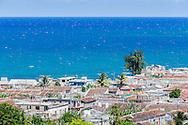 Rooftops in Gibara, Holguin, Cuba.