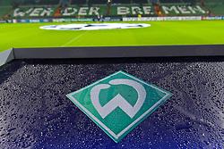 14.09.2010, Weserstadion, Bremen, GER, UEFA CL Gruppe A, Werder Bremen (GER) vs Tottenham Hotspur (UK), im Bild  Feature Werder Raute CL Logo Mittelkreis Tribuene EXPA Pictures © 2010, PhotoCredit: EXPA/ nph/  Kokenge+++++ ATTENTION - OUT OF GER +++++ / SPORTIDA PHOTO AGENCY