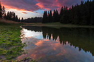 Golyam Beglik lake in Rhodope Mountains