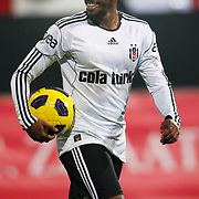 Besiktas's Manuel FERNANDES during their Turkey Cup Group B matchday 5 soccer match Besiktas between Trabzonspor at the Inonu stadium in Istanbul Turkey on Wednesday 26 January 2011. Photo by TURKPIX