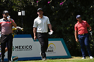 Tyrrell Hatton (ENG) and Paul Casey (ENG) on the 2nd tee during Rd4 of the World Golf Championships, Mexico, Club De Golf Chapultepec, Mexico City, Mexico. 2/23/2020.<br /> Picture: Golffile   Ken Murray<br /> <br /> <br /> All photo usage must carry mandatory copyright credit (© Golffile   Ken Murray)