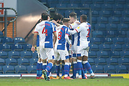 2-1, GOAL scored by Adam Armstrong of Blackburn Rovers   during the EFL Sky Bet Championship match between Blackburn Rovers and Queens Park Rangers at Ewood Park, Blackburn, England on 7 November 2020.