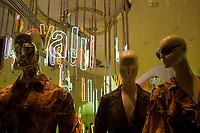 Fifth Avenue, New York, 2007.<br /> Olympus Trip 35, Fuji Superia 200