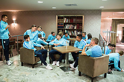 Slovenia team gathering before friendly football match against United Arab Emirates, on January 3, 2017 in Hotel Kokra, Brdo pri Kranju, Slovenia. Photo by Vid Ponikvar / Sportida