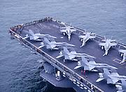 F/A-18s on CV-64 Military FA18