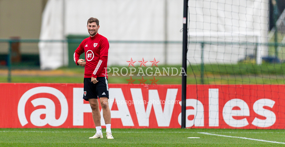 CARDIFF, WALES - Monday, October 5, 2020: Wales' Ben Davies during a training session at the Vale Resort ahead of the International Friendly match against England. (Pic by David Rawcliffe/Propaganda)