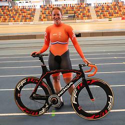 04-04-2017: Wielrennen: Persmoment KNWU: Apeldoorn<br /> APELDOORN (NED) baanwielrennen<br /> Kirsten Wild is medaillekandidaat op het omnium