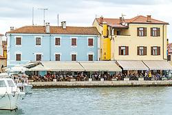 THEMENBILD - Häuserfront, aufgenommen am 28. Juni 2018 in Fazana, Kroatien // row of houses, Fazana, Croatia on 2018/06/28. EXPA Pictures © 2018, PhotoCredit: EXPA/ JFK