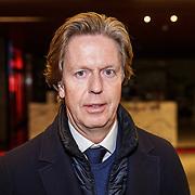 NLD/Rotterdam/20190221 - inloop verjaardagsfeestj Willem van Hanegem, Feyenoord directeur Jan de Jong