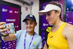 PORTOROZ, SLOVENIA - SEPTEMBER 18:  Tamara Zidansek after doubles semifinal  during the WTA 250 Zavarovalnica Sava Portoroz at SRC Marina, on September 18, 2021 in Portoroz / Portorose, Slovenia. Photo by Vid Ponikvar / Sportida