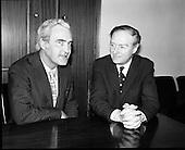 1973 - Liam Cosgrave Meets Brendan Corish. (E50).