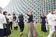 KATE MOSS, 2016 SERPENTINE SUMMER FUNDRAISER PARTY CO-HOSTED BY TOMMY HILFIGER. Serpentine Pavilion, Designed by Bjarke Ingels (BIG), Kensington Gardens. London. 6 July 2016