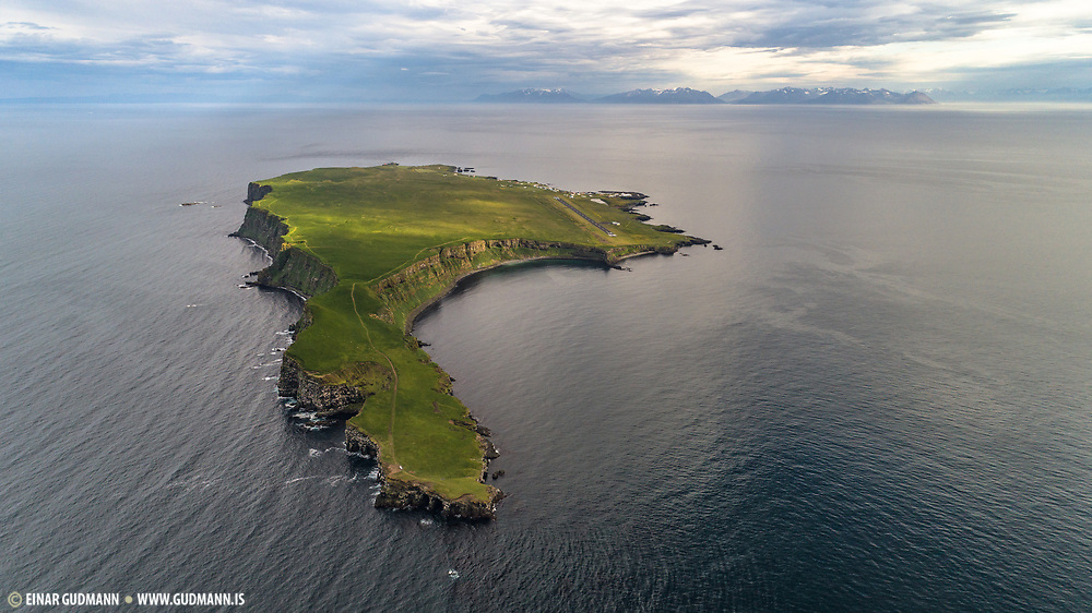 Aerial photo from a drone