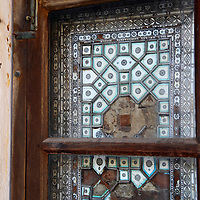 Asia, India, Amer. Window of Amber Palace.
