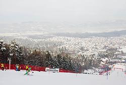 "Course during 1st Run of FIS Alpine Ski World Cup 7th Ladies' Slalom race named ""49th Golden Fox 2013"", on January 27, 2013 in Mariborsko Pohorje, Maribor, Slovenia. (Photo By Vid Ponikvar / Sportida.com)"