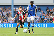Sheffield Wednesday forward Lucas Joao (18) during the EFL Sky Bet Championship match between Sheffield Wednesday and Sheffield Utd at Hillsborough, Sheffield, England on 24 September 2017. Photo by Phil Duncan.