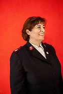 Maria Galinou, an officer in the Salvation Army in Athens, Greece. Maria works on the streets of the city helping migrants, sex workers and unaccompanied children that are seeking asylum in Greece.