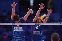 Marko Ivovic of Serbia<br /> Torino 30-09-2018 Pala Alpitour <br /> FIVB Volleyball Men's World Championship <br /> Pallavolo Campionati del Mondo Uomini <br /> Finals / 3th place<br /> Serbia - USA  <br /> Foto Antonietta Baldassarre / Insidefoto