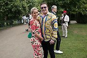 SARA ESQUILANT, ALEXANDER HANKIN, The Serpentine Party pcelebrating the 2019 Serpentine Pavilion created by Junya Ishigami, Presented by the Serpentine Gallery and Chanel,  25 June 2019